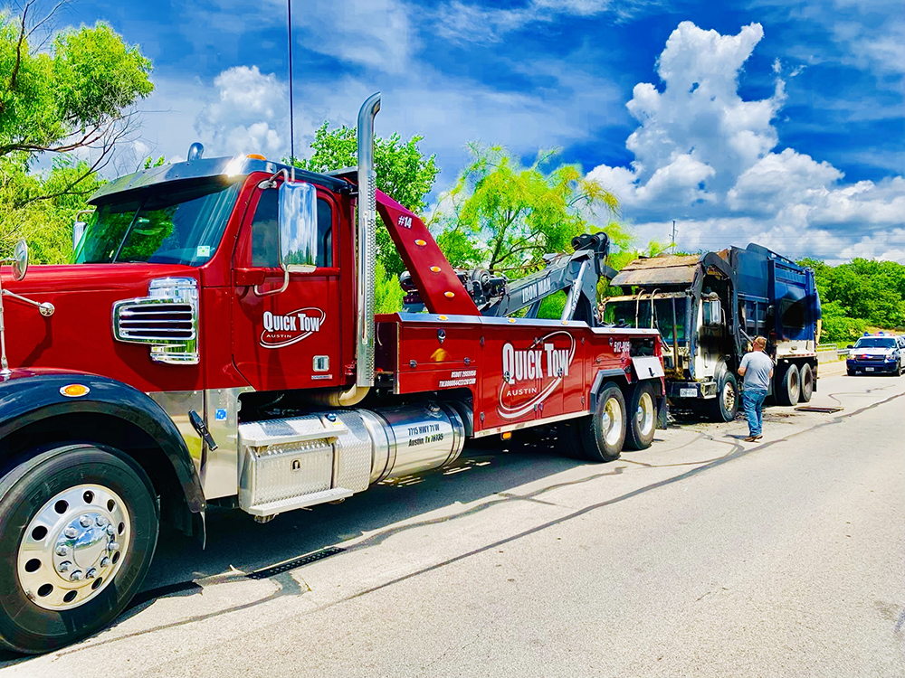 Awesome Wrecker Service in Austin, TX | Quick Tow Austin