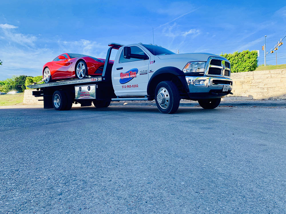 Reliable Wrecker Service in Round Rock, TX | Quick Tow Austin